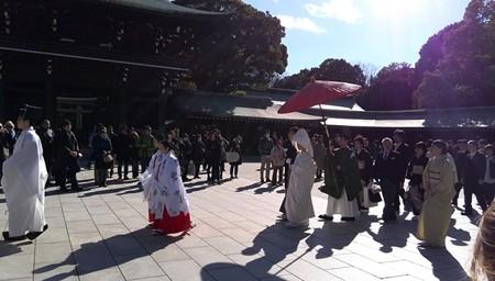 結婚式@明治神宮