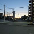 写真: 日の出前の東側@宇都宮