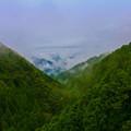 写真: 山岳の境目