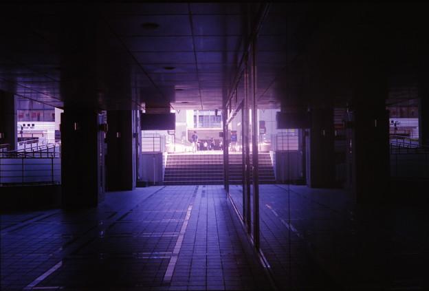 寂しい通路