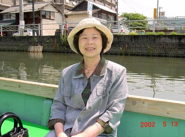 40-福岡 柳川 掘割めぐりにて-20050513-3