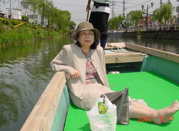 40-福岡 柳川 掘割めぐりにて-20050513-4