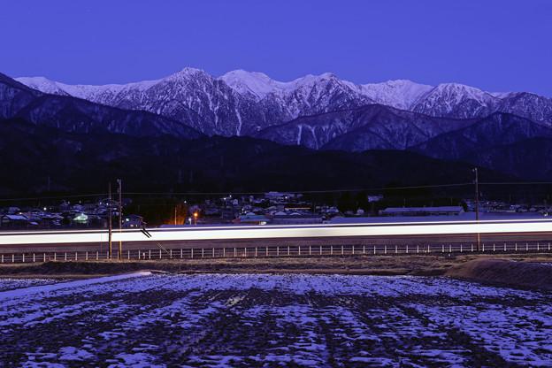 上り始発列車
