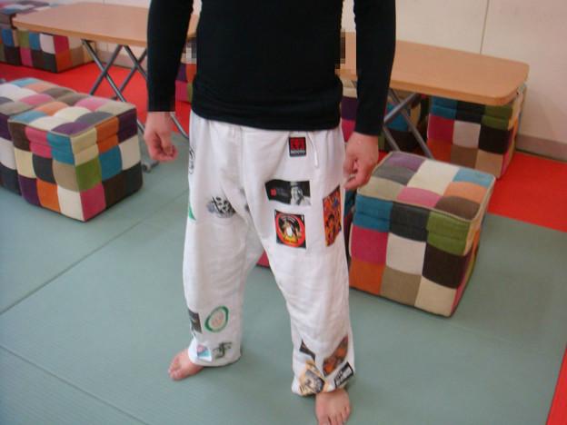 柔道ズボン1
