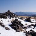 写真: 南八ヶ岳遠望