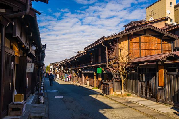 写真: 高山 古い町並み