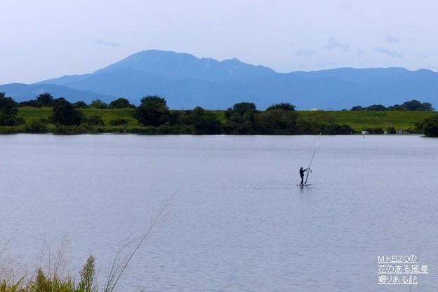 伊吹山と木曽川