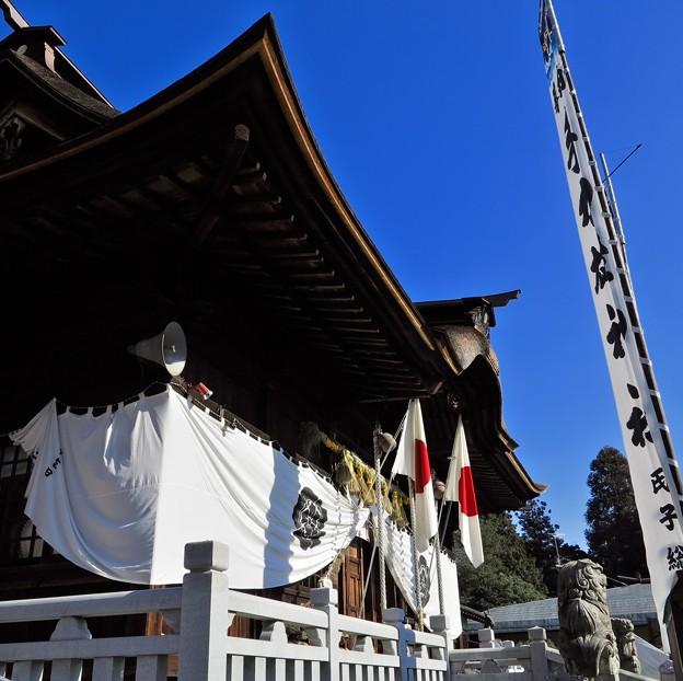写真: 手力雄神社