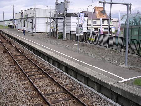 中富良野駅ホーム1