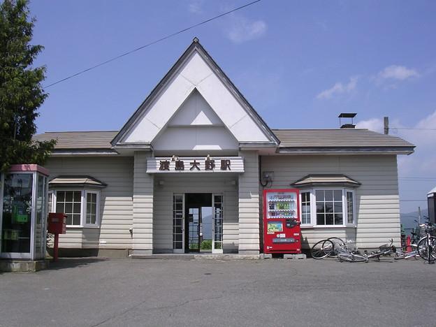 渡島大野駅舎