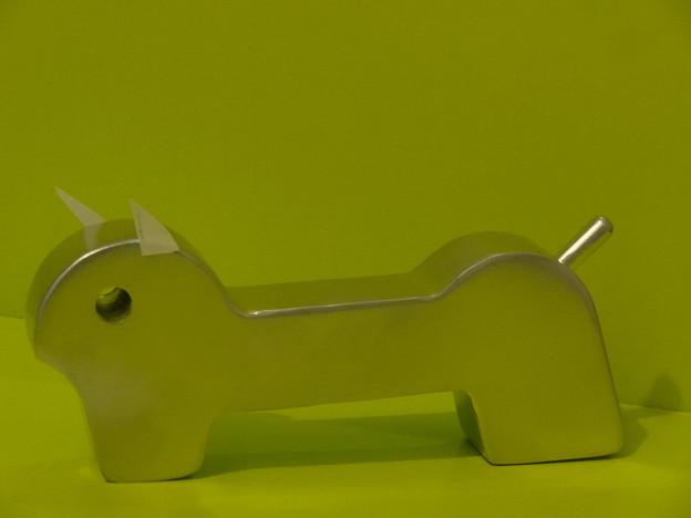 九州鉄道機器製造株の非売品の犬