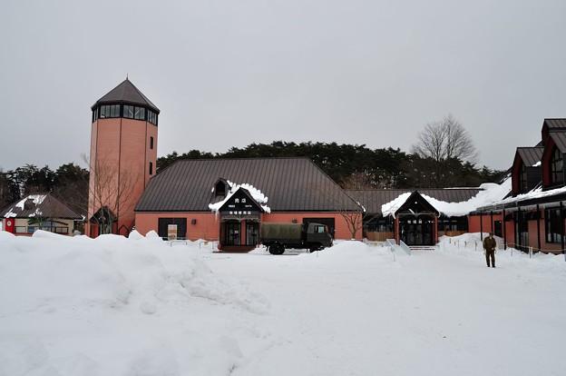 冬の小岩井農場まきば園 4