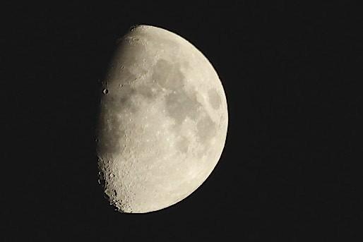 今日のお月さま~夜~♪