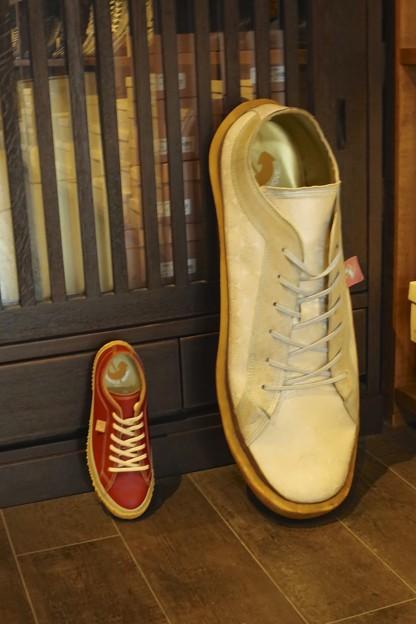 大きな靴~♪