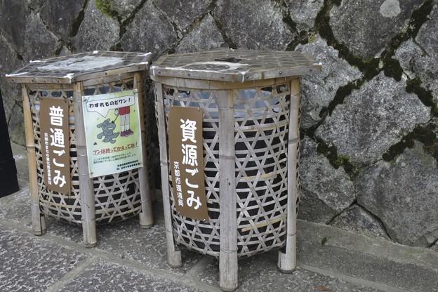 清水寺近くのゴミ箱~♪
