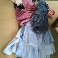 Photos: 服はユニクロへ、リサイクルするそうです。