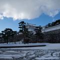 雪景色の霞ヶ城-06081