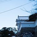 雪景色の霞ヶ城-06078