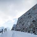 雪景色の霞ヶ城-06103
