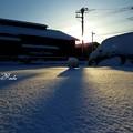 初雪が豪雪