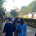 写真: 秋の名古屋城 - 07:「名古屋まつり」に伴う無料公開で賑わう名古屋城