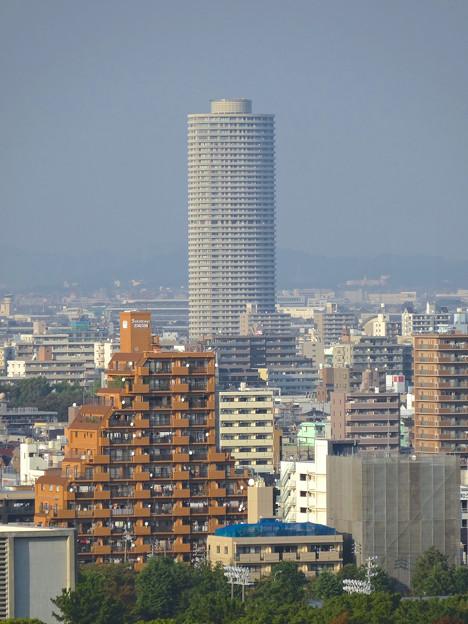 秋の名古屋城 - 21:天守閣最上階からの眺め(ザ・シーン城北)