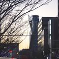 写真: 広小路通沿いのイルミネーションとスパイラルタワーズ - 1