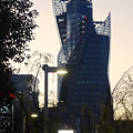 写真: 伏見から見えたスパイラルタワーズ