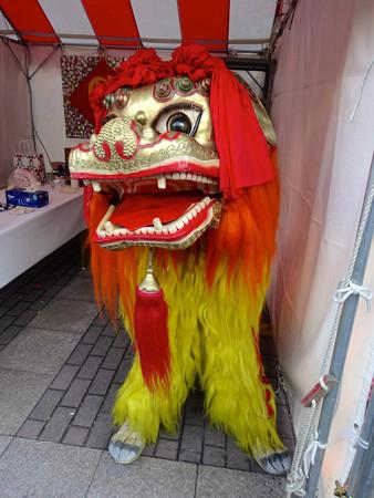 名古屋中国春節祭 2015 No - 21:中国獅子舞の獅子