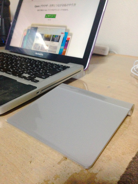 MacBook Pro(13int、非Retina)とMagic Trackpad - 5