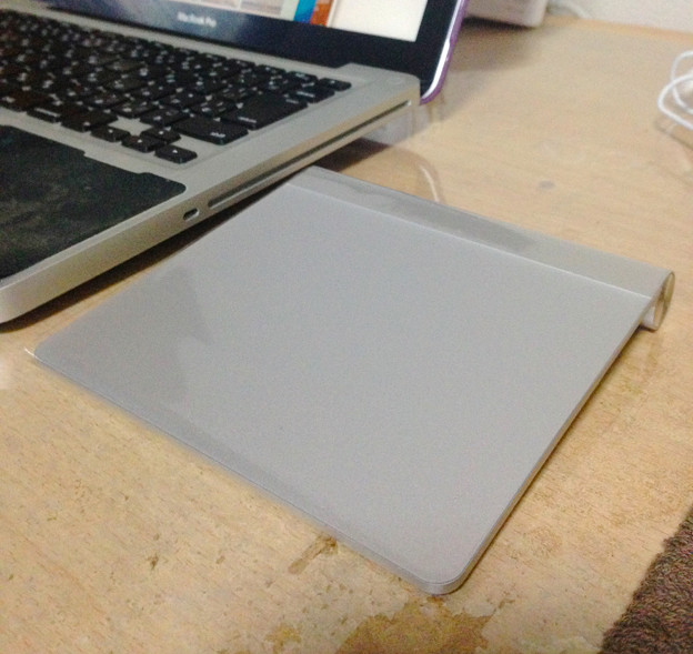 MacBook Pro(13int、非Retina)とMagic Trackpad - 7