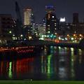 写真: 旗屋橋から見た名駅ビル群 - 2
