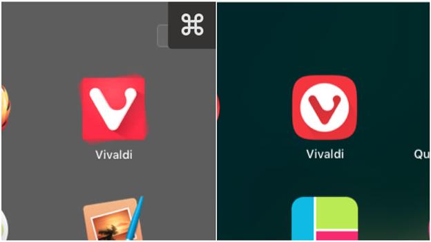 Vivaldi 1.11で変わったアイコン - 4