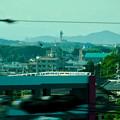 リニモ車内から見えたスカイワードあさひとスカイステージ33 - 3