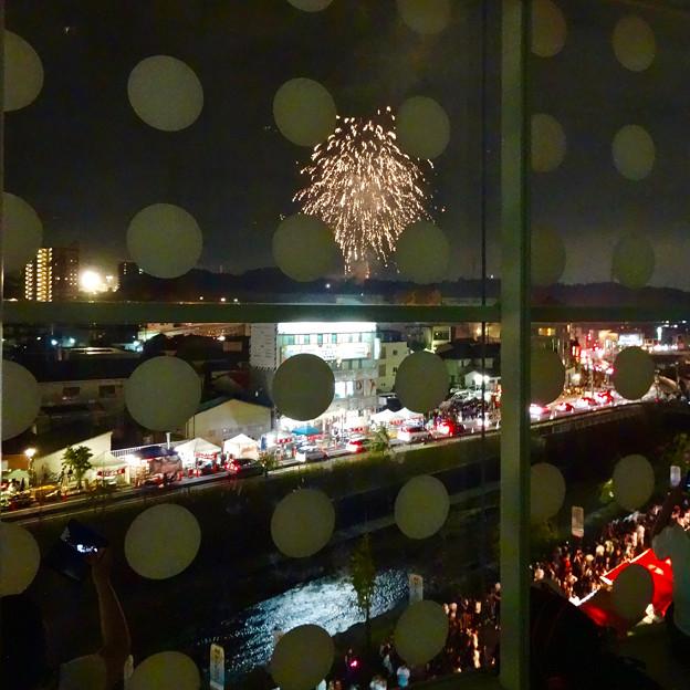 せともの祭 2017 No - 42:パルティせとから見た花火