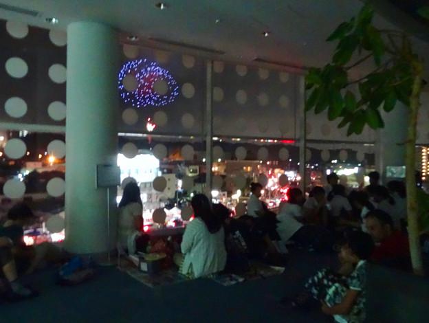 せともの祭 2017 No - 44:花火を見る人たち(パルティせと)