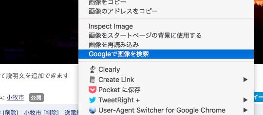 Vivaldi 1.12.955.14:画像の右クリックメニューにGoogleで画像検索 - 1