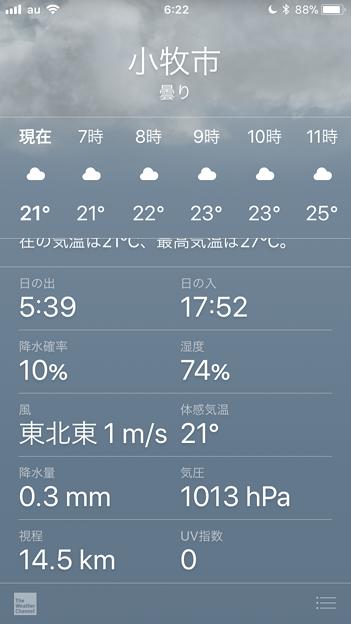 iOS 11:プチリニューアルした天気アプリ - 2