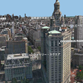 写真: iOS 11:FlyoverでVR巨人体験 - 2(ニューヨーク)