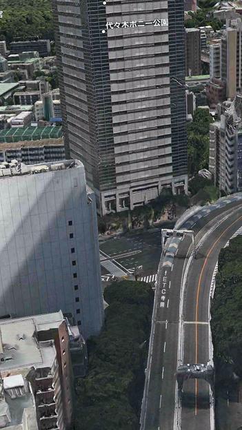 iOS 11:FlyoverでVR巨人体験 - 9(東京都)