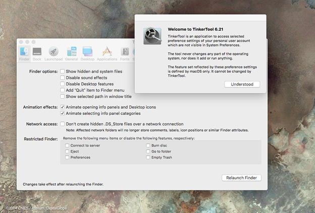TinkerTool 6.2.1にアップデート