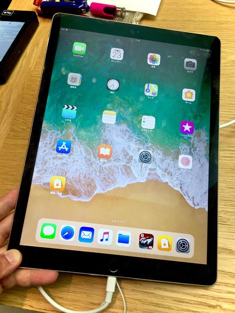 iOS 11が入ったiPad Pro No - 2:ホーム画面