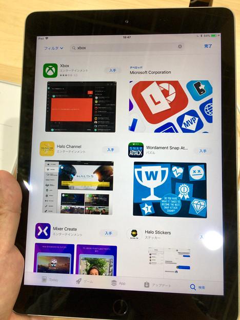 iOS 11が入ったiPad 第5世代 No - 3:App Store