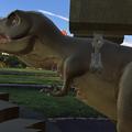 Photos: 3Dモデル共有サービス「Sketchfab」公式アプリ - 50:3DモデルをAR!(ロケットランチャーを装備したティラノサウルス)