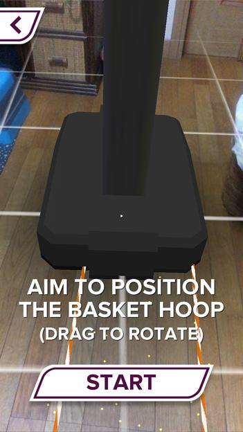 ARを使ったバスケットゲーム「AR Sports Basketball」 - 6