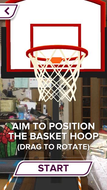 ARを使ったバスケットゲーム「AR Sports Basketball」 - 7