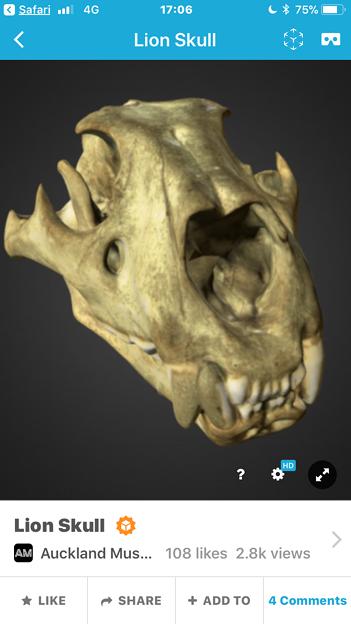 3Dモデル共有サービス「Sketchfab」公式アプリ - 81