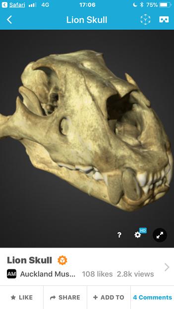 3Dモデル共有サービス「Sketchfab」公式アプリ - 82