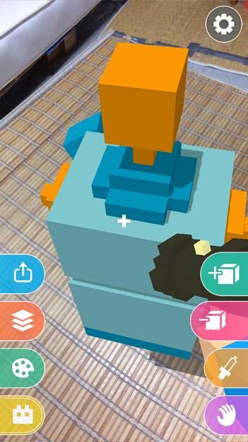 ブロックを積み上げて3Dモデルが作れるARアプリ「Makebox AR」 - 19