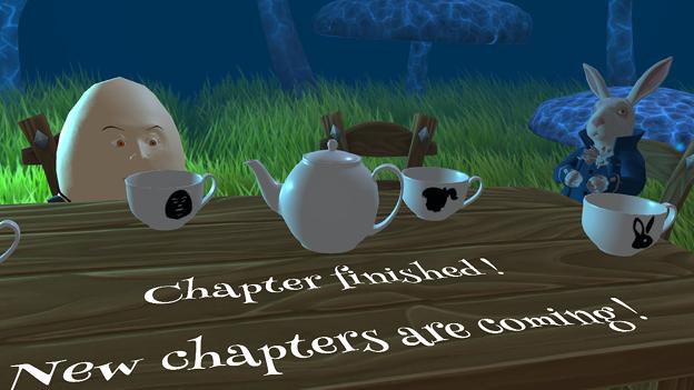 『不思議の国のアリス』を題材にしたミニゲームアプリ「Alice in Wonderland AR quest」 - 20